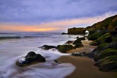 Paysage et forme de relief unique dans la côte ouest des Etats-Unis photo stock