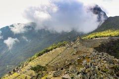 Paysage et mur de montagne image libre de droits