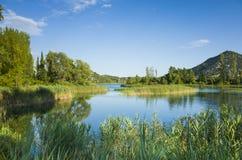 Paysage et nature de la Croatie l'Europe Photos libres de droits