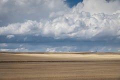 Paysage et nuages de l'Idaho images libres de droits