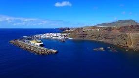 Paysage et vue de beau Gran Canaria aux Îles Canaries, Espagne image libre de droits