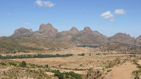Paysage, Ethiopie, Afrique Photographie stock libre de droits