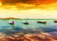 Paysage exotique de plage tropicale de la Thaïlande image stock