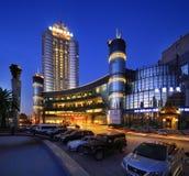Paysage externe d'hôtel de l'étoile de la Chine Image stock
