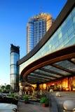Paysage externe d'hôtel de l'étoile de la Chine Photos libres de droits