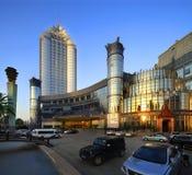 Paysage externe d'hôtel de l'étoile de la Chine Photographie stock
