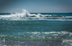 Paysage frais d'océan Photo stock