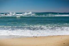 Paysage frais d'océan Photo libre de droits
