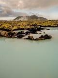 Paysage géothermique Islande images libres de droits