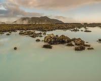 Paysage géothermique Islande image libre de droits