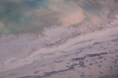 Paysage gelé d'un autre monde Images stock