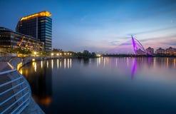 Paysage iconique de Putrajaya Photos libres de droits