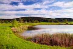L'eau idyllique Image libre de droits