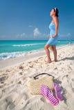 Paysage idyllique de vacances Photo stock