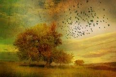 Paysage II d'imagination Image libre de droits