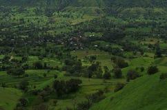 Paysage-II exotique de village de Satara Photographie stock