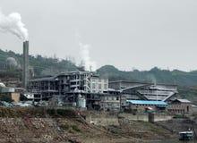 Paysage industriel en Chine image stock