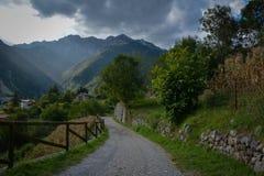 Paysage L'Italie du nord Image stock