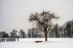 Paysage latéral de village de pays Photos libres de droits