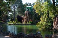 Paysage magique de lac Photo libre de droits