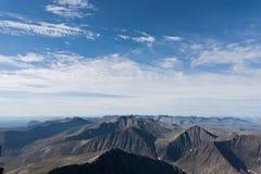 Paysage magique de montagne. Photographie stock libre de droits