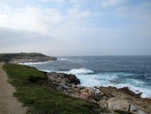 Paysage marin à Ferrol, La Coruna, Espagne Images libres de droits
