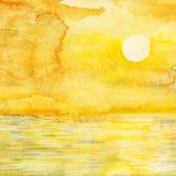 Paysage marin. Photos stock