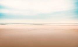 Paysage marin abstrait minimaliste Photos libres de droits