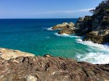 Paysage marin australien d'île photographie stock libre de droits