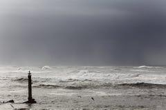 Paysage marin déprimé images libres de droits