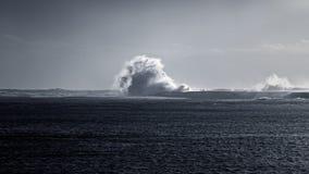 Paysage marin déprimé photographie stock libre de droits
