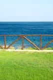 Paysage marin d'été Images libres de droits