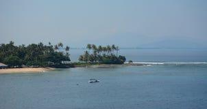 Paysage marin d'île de Lombok, Indonésie photos libres de droits