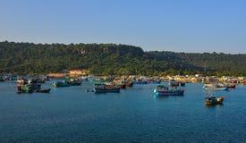 Paysage marin d'île de Phu Quoc, Vietnam Photographie stock