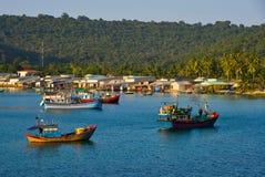 Paysage marin d'île de Phu Quoc, Vietnam Images libres de droits