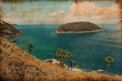 Paysage marin d'île de phuket Photo libre de droits