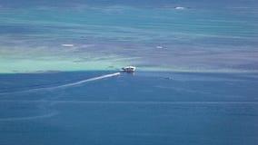 Paysage marin de banc de sable de Kaneohe Photos libres de droits