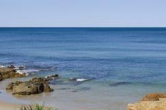 Paysage marin de bleu d'océan Photographie stock