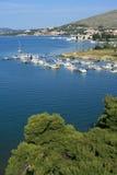 paysage marin de la Croatie photo libre de droits