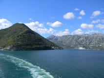 Paysage marin de la Croatie Photographie stock