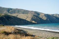 Paysage marin de plage photographie stock
