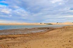Paysage marin de région d'Addo Elephant National Park, Afrique du Sud images libres de droits