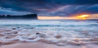 Paysage marin de Sydney Images libres de droits