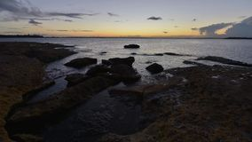 Paysage marin de Timelapse Sydney. clips vidéos
