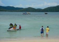 Paysage marin des îles de Phuket, Thaïlande Photo libre de droits