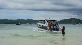 Paysage marin des îles de Phuket, Thaïlande Photos libres de droits