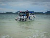 Paysage marin des îles de Phuket, Thaïlande Images libres de droits