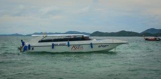 Paysage marin des îles de Phuket, Thaïlande Images stock