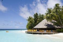 Paysage marin des Maldives Images stock