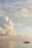 Paysage marin des Seychelles. Photographie stock libre de droits